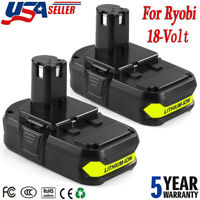 2-Pack P103 for Ryobi 18V ONE+ Compact Lithium Battery P108 P104 P105 P109 P102