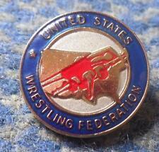 USA WRESTLING FEDERATION UNION ASSOCIATION PIN BADGE