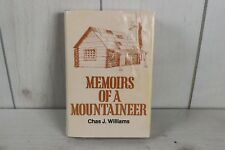 Memoirs of a Mountaineer Chas Williams 1984 First Edition East Tennessee Book