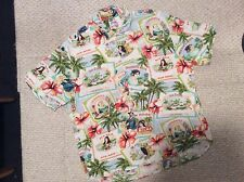 Mens XL JAMS WORLD Rayon short sleeve Travel Shirt Handsome & NICE!