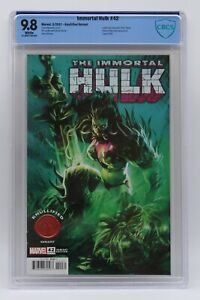 Immortal Hulk (2018) #42 Lozano Knullified Cover CBCS 9.8 Blue Label White Pages