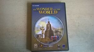 THE 8th WONDER OF THE WORLD - 2004 ADVENTURE STRATEGY PC GAME Fast Post COMPLETE