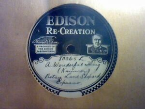 12 RARE UNFINISHED EDISON DIAMOND DISC FACTORY REJECTS ALL IN PERFECT PLAYING