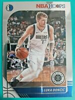 2019-20 NBA Hoops Premium Stock BASE #39 Luka Doncic Dallas Mavericks
