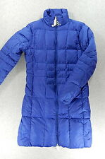 NWT Lands End GOOSE DOWN Reversible Quilted Long Coat (Women's X-Small)