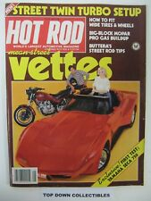 Hot Rod Magazine  May 1981   Oakland Roadster Show 1981/Yamaha Seca 750 Test