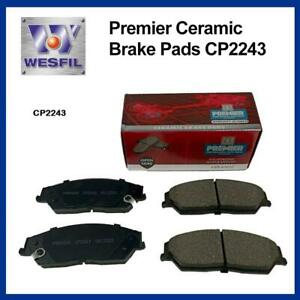 Premier CERAMIC DB2243 Front BRAKE PADS DB2243 CP2243 suits TOYOTA Camry, Aurion