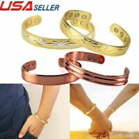 Magnetic Therapy Bangle Bracelet Pure Copper Arthritis Healing Bio Unisex Bangle