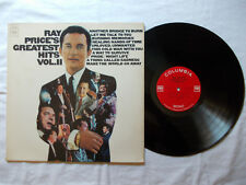 LP 33 giri 12'' Disco Vinile RAY PRICE'S Greatest Hits Vol 2 1967 Usa CL 2670