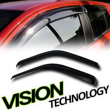 Sun/Rain Shade Deflector Window Visor 2P For 99-16 Ford F250/350 Super Duty Cab