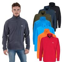 Trespass Mens Fleece Jumper Half Zip Hiking Camping Pull Over XXS-XXL