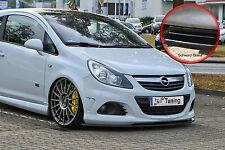 Spoilerschwert Frontspoiler ABS Opel Corsa D OPC OPC-Line ABE schwarz glänzend