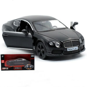 New 1:36 Bentley Continental GT V8 Model Diecast Vehicles Pull Back Car Toy Gift