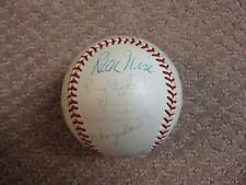 1971 National League All-Star Team ONL Signed Baseball Seaver Brock Stargell JSA