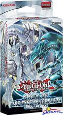 Yugioh Saga of Blue-Eyes White Dragon Factory Sealed Structure Deck !
