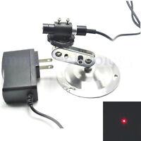 Dot Locator Focusable 650nm 5mW DC 5V Red Laser Module w/ Adaptor & Holder