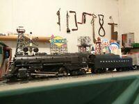 """Lionel Postwar """"Sharp"""" 736 Steam Loco Berkshire & 736W Tender ready to work ! !"""