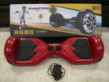 SWAGTRON T881 - RED Self-Balancing Scooter UL 2272 certified