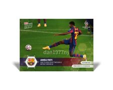 🛑👀 2020 TOPPS NOW UEFA CHAMPIONS LEAGUE ANSU FATI #3 🔥 PRESALE