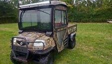 More details for kubota rtv, utility vehicle
