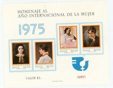 CHILE--Aouvenir Sheet Scott 473-#476
