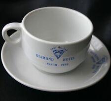 Diamond Hotel Cup & Saucer Phnom Penh Cambodia