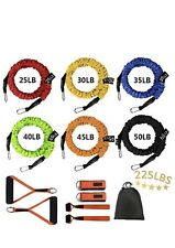 Sunsign Stackable Resistance Band Kit Workout Total-Body Training Home Gym