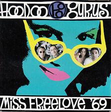 "HOODOO GURUS  Miss Freelove '69 PICTURE SLEEVE 7"" 45 record + juke box strip"