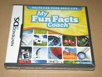 My Fun Facts Coach (Nintendo DS) Brand New / Fast Shipping