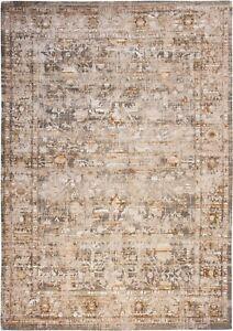 Antiquarian USHAK Suleiman Grey 8884 Turkish Tribe Louis de Poortere Vintage Rug