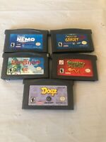 Nintendo Gameboy Advance Video Games Lot Of 5 (Lot 3)