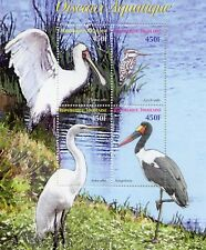 Togo 2006 MNH Aquatic Water Sea Birds Spoonbill Stork 4v M/S Oiseaux Stamps