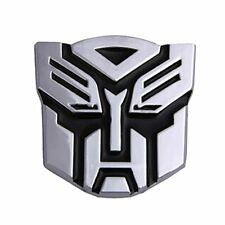 BestAuto® Car Decoration Transformers Sticker Logo Metal 3D Autobot Emblem Badg