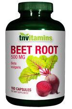 TNVitamins Beet Root 500 Mg - 100 Capsules