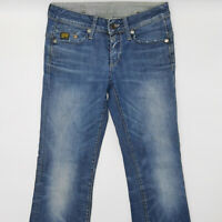 G-Star W28 L32 blau Damen Designer Denim Jeans Hose Mode Vintage Retro Mode Chic