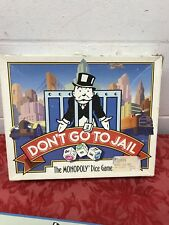 Don't Go to Jail. The Monopoly Dice Game. 100% Complete. Vintage 1991.