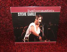 Steve Earle : Live from Austin, Tx CD ** MINT **