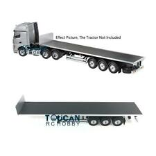Hercules Chassis Flatbed Semi Trailer for RC DIY TAMIYA Model 1/14 Tractor Truck