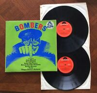 Bombers - Compilation Vinyl Double LP - John Mayall, Clapton - 1970 Polydor VG