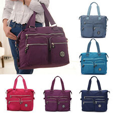 Women's Waterproof Nylon Handbag Tote Shoulder Bag Messenger Sport Gym Travel AU