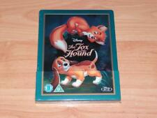 The Fox and the Hound Tod Toby Disney Zavvi Exclusive Steelbook UK Blu-ray OOP