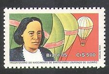 Brazil 1985 Gusmao/Inventor/Hot Air Balloons/Flight/Aviation/Flight 1v (n38127)