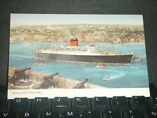 Cunard RMS CARINTHIA Naval Cover Unused Post Card
