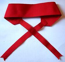 Hungary Vitez Vites Austro Fleece Merit Knight Medal Neck Ribbon Cravat Red War
