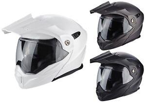Scorpion ADX-1 Solid Enduro Flip up Helmet Motorcycle off Road Crash Matte
