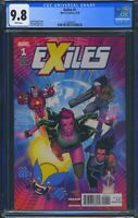 Exiles 1 (Marvel) CGC 9.8 White Pages 1st cover appearance of Valkyrie