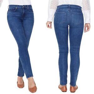 New NYDJ Alina Legging Jeans 12 Lift & Tuck Womens Stretch Slimming Habana Wash