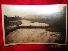 RPPC 1922 Flood Carbondale, Pa Scranton, Pa Jessup, Pa Lackawanna River