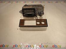 70 Ford Mercury Lincoln AM/FM/Stereo PB Bendix OFBM Radio DOMA-19A241 Woodgrain