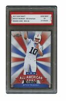 MITCH TRUBISKY 2017 LEAF ALL-AMERICAN 1ST GRADED 10 ROOKIE CARD BEARS (Mitchell)